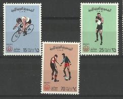 LIBYA  1976  MONTREAL OLYMPICS SET MNH - Libia