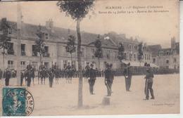 MAMERS - 115 è Régiement Infanterie - Revue 14 Juillet 1912 - Remise Décorations  PRIX FIXE - Mamers