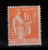 YV 286 N** Paix Cote 8 Euros - France
