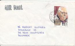 Malta Cover With Single Stamp Europa CEPT 1964 Sent To Denmark - Malta