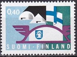 Finland/1969 - Finnish Fair/Messutoiminta - 0.40 Mk - MNH - Finland