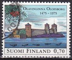 Finland/1975 - Olavinlinna Castle 500th Anniv./Olavinlinna 500 Vuotta - 0.90 Mk - USED - Finlande