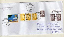 Enveloppe FRANCE Oblitération LA POSTE 11/06/2019 - Postmark Collection (Covers)