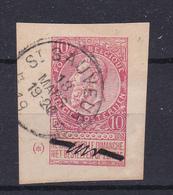 Nr 58  St Sauveur  Kaart 556   Op Hoekstuk Van Kaart - 1893-1900 Barbas Cortas