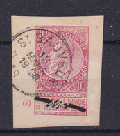 Nr 58  St Sauveur  Kaart 556   Op Hoekstuk Van Kaart - 1893-1900 Schmaler Bart