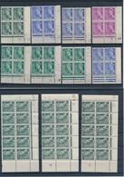 FRANCE - BEAU LOT DE 20 COINS DATES MERCURE NEUFS POUR ETUDE - VOIR SCANNS RECTO VERSO - Coins Datés