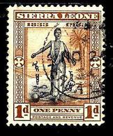 SIERRA LEONE 139° 1p Brun-jaune Et Noir Centenaire De La Mort De William Wiberforce Et Abolition (10% De La Cote + 0,15) - Sierra Leone (...-1960)