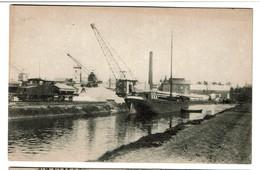Moerbeke - Waes - Moervaert En Suikerfabriek / Canal Du Moervaert Et Sucrerie - 2 Scans - Moerbeke-Waas