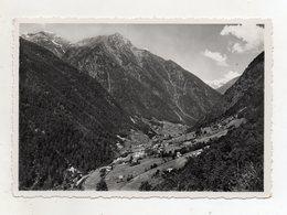 Pracorno Frazione Del Comune Di Rabbi (Trento) - Panorama - Viaggiata Nel 1955 - (FDC16320) - Trento