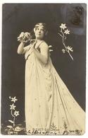 237 - Jeune Dame - Bleuet - Délicatesse - Illustrateurs & Photographes