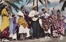 RP: FORT DE FRANCE, Martinique, PU-1956; Singer & Dancers On Beach - Fort De France
