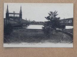 STRASBOURG, Les Deux Ponts Du Rhin - Strasbourg