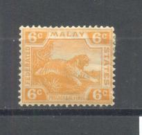Malaysia 1922  MLH - Malasia (1964-...)