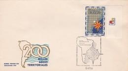 1972 URUGUAY FDC COVER- 200 MILLAS AGUAS TERRITORIALES-BLEUP - Uruguay