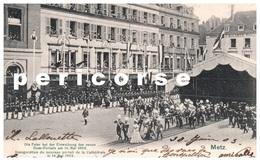 57  Metz  Inauguration Du Portail De La Cathédrale  1903 - Metz