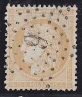 N°59 étoile Chiffrée 6P4, Très Belle Frappe, étoile Rare, TB - 1871-1875 Cérès