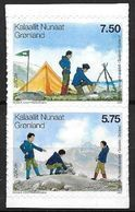 Groënland 2007 N° 461/462 Adhésifs Neufs Europa Scouts - Nuovi