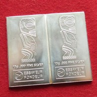 Cook Islands 2 X 1 $ 2012 Silver Two Coins Unc - Cookinseln