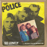 """7"""" Single, The Police, So Lonely - Disco, Pop"""