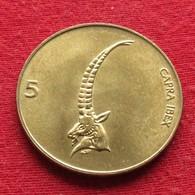 Slovenia 5 Tolarjev 1996 KM# 6  Eslovenia Slovenija Slovenie - Slovenia