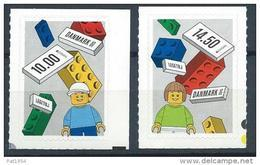 Danemark 2015 N°1784/1785 Neufs Europa Jeux Lego - Danemark