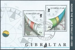 Gibilterra - Gibraltar-1992 Sailing - Whitbread Around The World,Minisheet (108 X 72mm) - Gibilterra