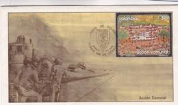 1979  COLOMBIA FDC-ACCION COMUNAL. OBLITEREE BOGOTA-BLEUP - Colombie