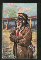 AK North American Indians, Mojave Medicine Man, First Nation - Indianer