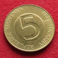 Slovenia 5 Tolarjev 1993 KM# 6  Eslovenia Slovenija Slovenie - Slovenia