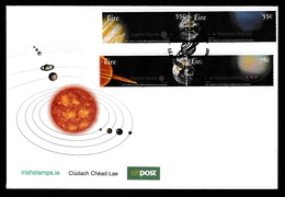 IRELAND 2007 The Planets: First Day Cover CANCELLED - FDC