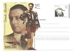 Portugal 2001 - Stationery 100 Years Tomás Alcaide - Postwaardestukken
