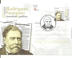Portugal 2006 - Stationery Rodrigues Sampaio,first Day Cancel - Postwaardestukken