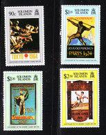 Solomon Isl. - 1996. Locandine Di Vecchie Olimpiadi. Old Olympics Posters. Complete MNH Series - Estate 1996: Atlanta