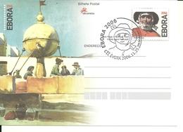 Portugal 2006 - Stationery Ebora 2006, Philatelic Exhibition, First Day Cancel - Postwaardestukken