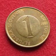 Slovenia 1 Tolar 2004 KM# 4  Eslovenia Slovenija Slovenie - Slovenia