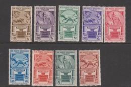 Italian Colony General Issue S 23-31 1933 Cinquantenario Eritreo,mint Hinged - Emisiones Generales