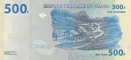 CONGO D.R. P.  96a 500 F 2013 UNC - Congo