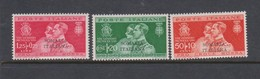 Italian Colony Somalia S 130-132 1930 Royal Wedding,mint Hinged, - Somalia