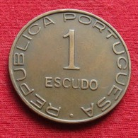 Mozambique 1 Escudo 1945 Mozambico Moçambique - Mosambik
