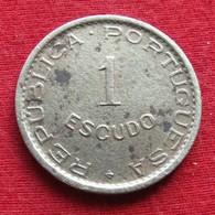 Mozambique 1 Escudo 1950 Mozambico Moçambique - Mozambique