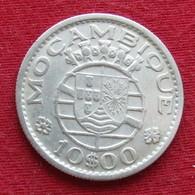 Mozambique 10 Escudos 1952 Mozambico Moçambique - Mozambique
