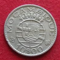 Mozambique 10 Escudos 1974 Mozambico Moçambique - Mosambik