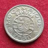 Mozambique 2.50 Escudos 1953 Mozambico Moçambique - Mozambique
