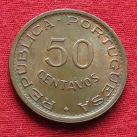 Mozambique 50 Centavos 1974 Mozambico Moçambique Wº - Mosambik