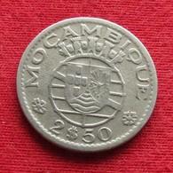 Mozambique 2.50 Escudo 1953 Mozambico Moçambique Wº - Mosambik