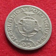 Mozambique 2.50 Escudo 1954 Mozambico Moçambique Wº - Mosambik