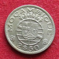 Mozambique 2.50 Escudo 1955 Mozambico Moçambique Wº - Mosambik