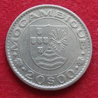 Mozambique 20 Escudos 1971 Mozambico Moçambique Wº - Mozambique