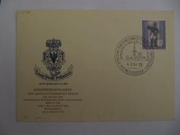 Berlin 1954, Postillon, Mi 120, FDC, KW 60,- - Lettres & Documents