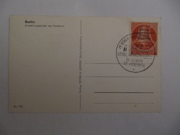 Berlin 1954, Bundespräsident, Mi 118, FDC-Karte, KW 60,- - Lettres & Documents